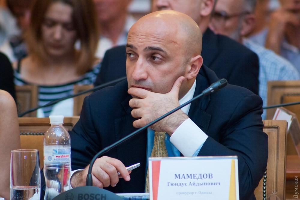 Против замгенпрокурора Мамедова открыто уголовное производство