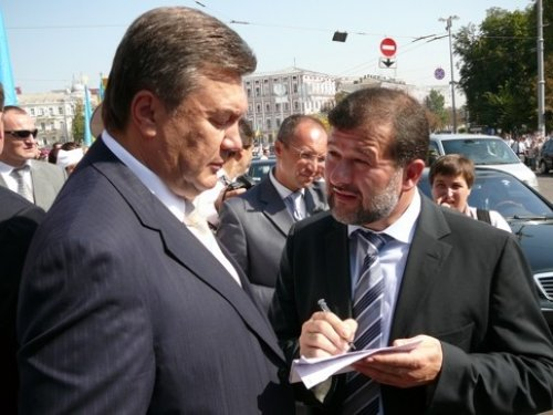 Янукович Балога