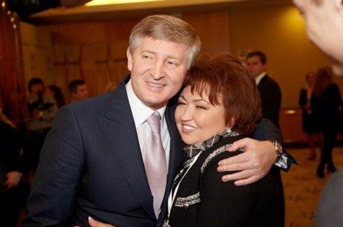 Ринат Ахметов и Татьяна Бахтеева