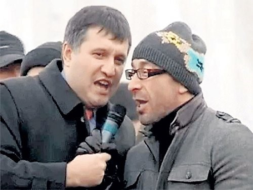 Арсен Аваков и Геннадий Кернес