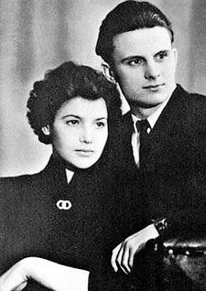 Леонид и Антонина Кравчук