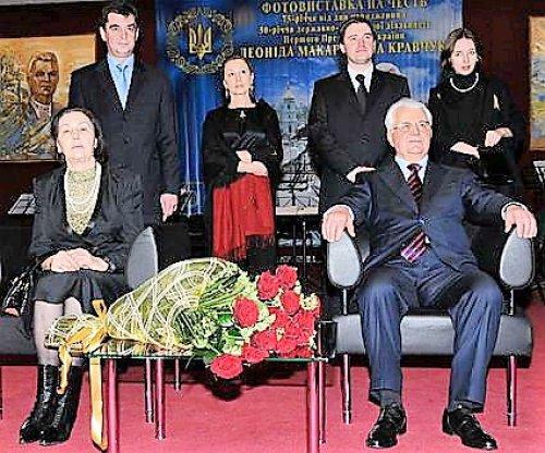 семья Леонида Кравчук