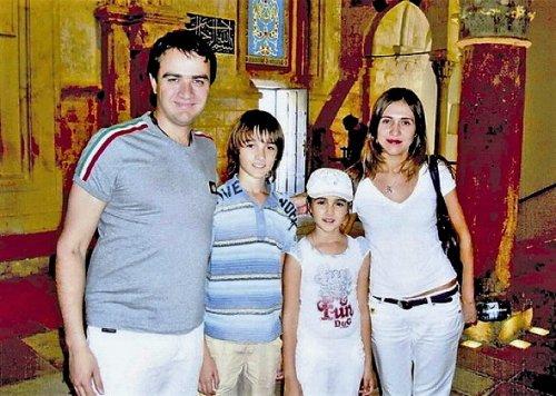 Андрей Павелко с семьей