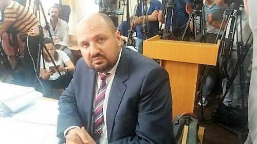 Борислав Розенблат в суде