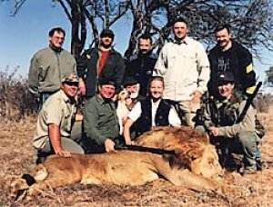 Африка Бакай убил Льва