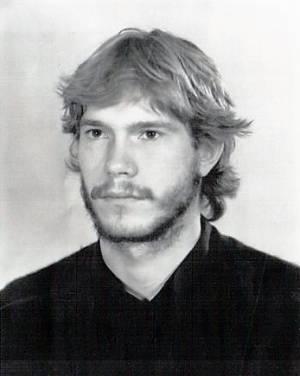 Олег Царев в молодости