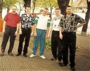 Максим Ефимов в 90-х