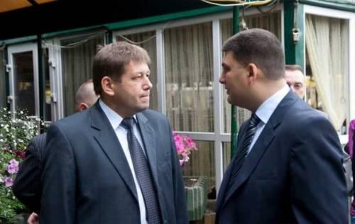 Владимир Кистион, Владимир Гройсман, Винница