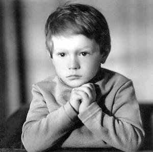 Олег Царёв в детстве