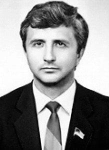 Анатолий Матвиенко в юности комсомол