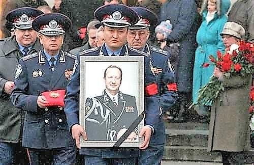 похороны Кравченко