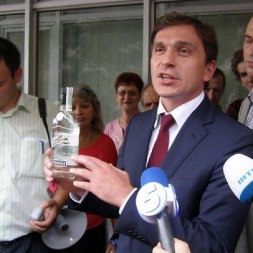 Бондарев с водкой БодаревЪ