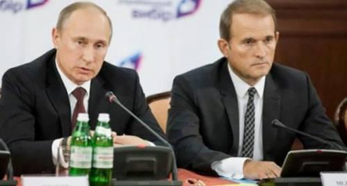 Путин Медведчук Кум
