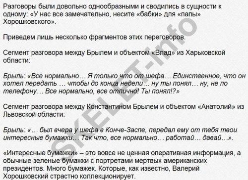 запись разговора Константина Брыля