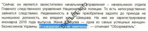Евгений Шевцов: воруй миллионы – гаси «шоколадных»