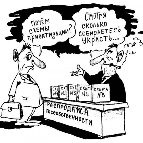 схемы приватизации