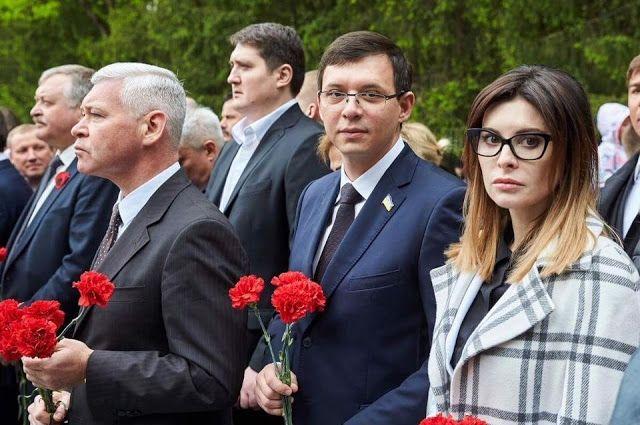 Евгений Мураев с женой