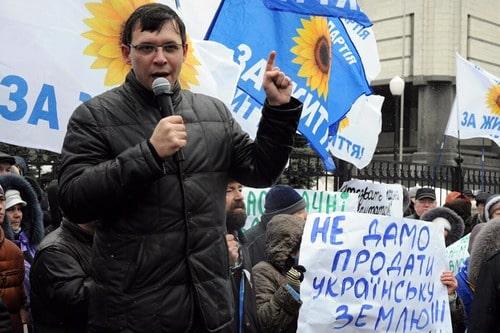 Евгений Мураев на митинге