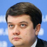 Нардепы проголосовали за отставку Разумкова