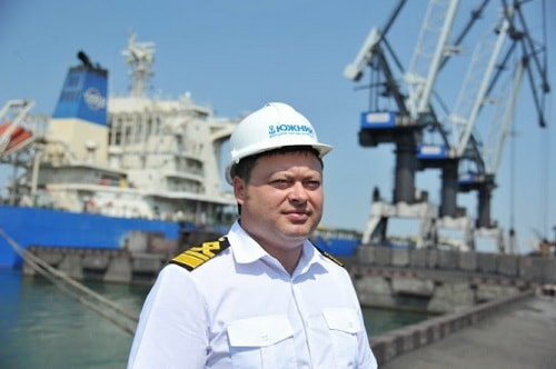 Виталий Жуковский, порт