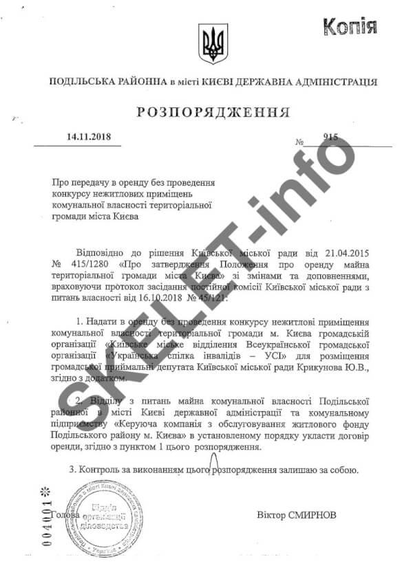 Смирнов Виктор: коррумпированный начальник Подола. ЧАСТЬ 2