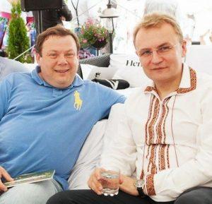 Михаил Фридман и Андрей Садовой