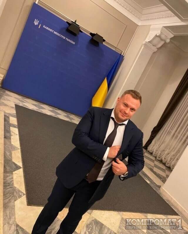 Макс Вегнер, Максим самов в Кабмине Украины
