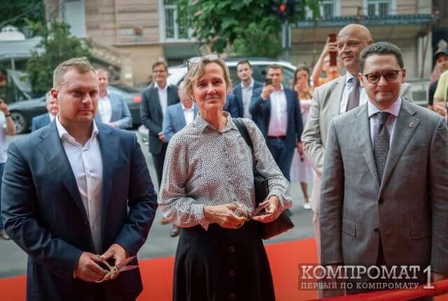 Макс Вегнер, посол Германии в Украине Анка Фельдгузен, вице-мэр Одессы Павел Вугельман