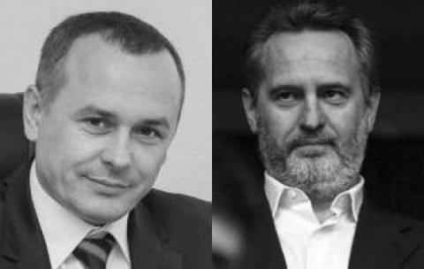 Владимир Саенко и Дмитрий Фирташ