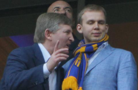 Ринат Ахметов и Сергей Курченко