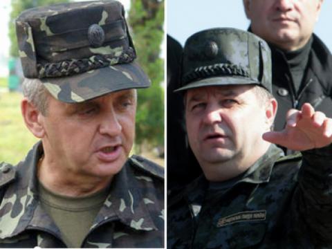 Виктор Муженко, Степан Полторак