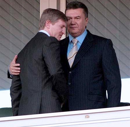 Ринат Ахметов и Виктор Янукович