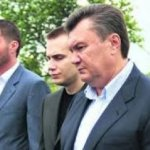 Виктор Янукович и сыновья