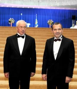 Николай Азаров и Андрей Клюев
