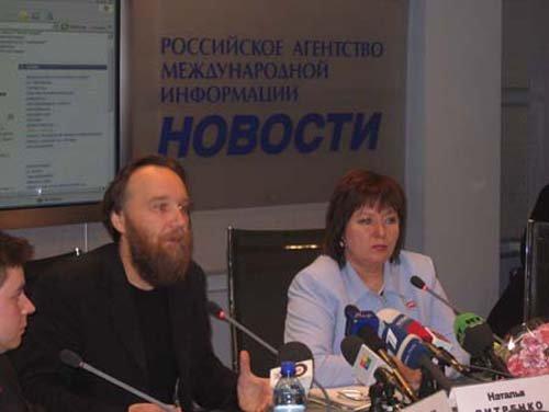 Александр Дугин, Наталья Витренко