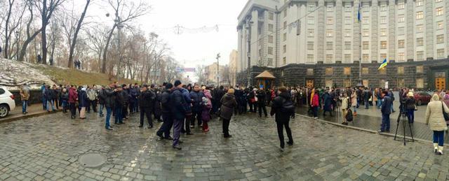 забастовка киевпастранс