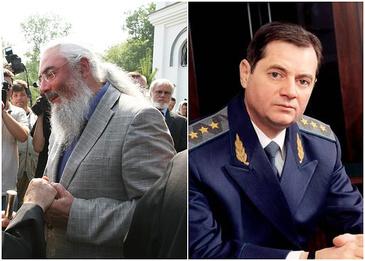 Экс-генпрокурор Геннадий Васильев (на фото справа) наверняка поддерживает действия СБУ, обвинившей его вчерашнего партнера и нынешнего врага Виктор Нусенкиса (на фото слева) в финансировании террористов