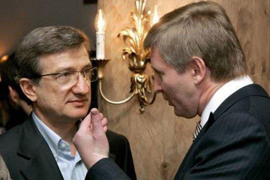 Сергей Тарута и Ринат Ахметов