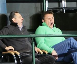 Дмитрий Фирташ (слева) и Сергей Левочкин