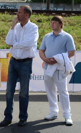 Александр Башенко и Сергей Осьмухин