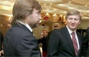 Ринат Ахметов и Вадим Новинский