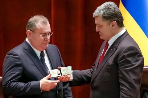 Валентин Резниченко и Петр Порошенко