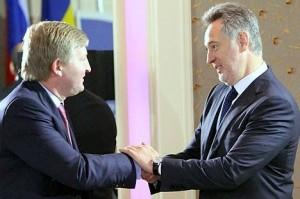 Дмитрий Фирташ и Ринат Ахметов