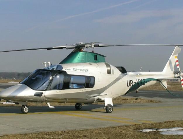 Вертолет с маркировкой KVZ (Константин Валентинович Жеваго). Ориентировочная стоимость 12 миллионов евро