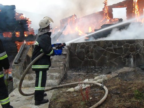 Пожежа в готелі «Київська Русь»
