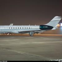 Самолет Bombardier BD-700-1A10 Global Express XRS. Приобретен К. Жеваго за 60 миллионов долларов