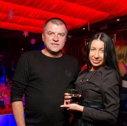Валерий Подымака с женой