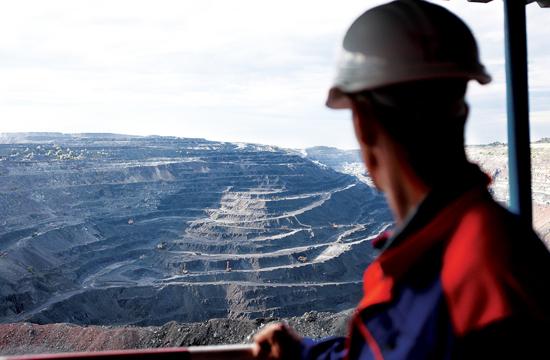 руда и добытчик