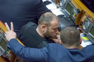 Депутатская группа «Укроп» может вырасти в политическую партию (на фото народные депутаты Борис Филатов и Дмитрий Ярош