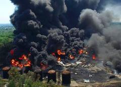пожар нефтебаз